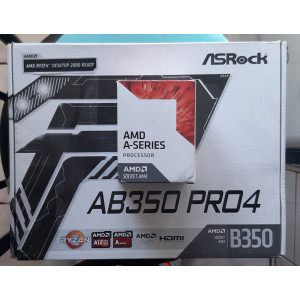 Kit AM4 ASRock AB350 Pro4 + AMD A6 9500E 3.0GHz box