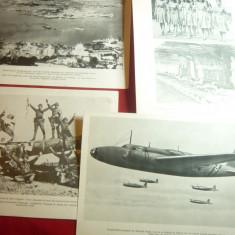 4Fotografii tiparite ww2- Razboi in Orient : Japonia contra Anglo-Americani