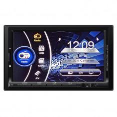 Player auto Kruger Matz, 2 DIN, Bluetooth, USB, AUX, GPS, FM