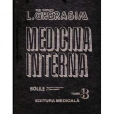 Medicina interna - Bolile digestive hepatice si pancreatice vol. III