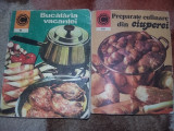 Carte de bucate-PREPARATE CULINARE DIN CIUPERCI-BUCATARIA VACANTEI(2 vol)T.GRAT