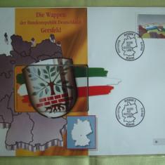 Cartela Telefonica + FDC Germania Gersfeld - Exponat Numerotat