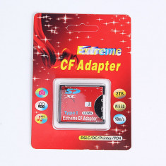 Adaptor carduri  SD SDHC la CF Compact Flash Tip I Card adaptor