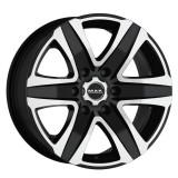 Jante TOYOTA HILUX 2WD 6.5J x 16 Inch 6X139,7 et20 - Mak Stone 6 W Black Mirror - pret / buc
