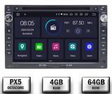 Navigatie Volkswagen, Android 10, Passat B5 Golf IV Sharan T4-T5 Jetta Polo, Octacore PX5 4GB RAM + 64GB ROM cu DVD, 7 Inch - AD-BGWVWB5P5