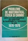 Cumpara ieftin I. Sabac - Probleme date la admitere in anii 1978-1979
