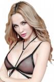 BRA237-1 Sutien sexy cu guler tip choker