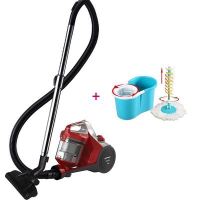 Set curățenie Aspirator fără sac HEINNER 700 W+ Mop Rotativ foto