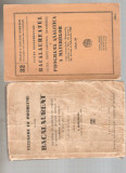 Bacalaureat 1936