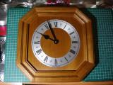 Ceas de perete vintage Lemn /cifre romane