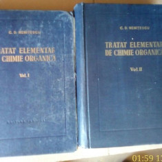 Tratat elementar de chimie organica – C.D. Nenitescu