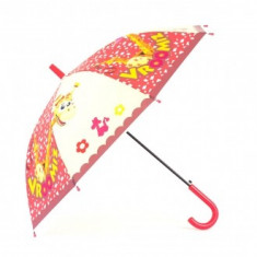 Umbrela copii imprimeu Cartoon Rosu