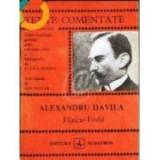 Al. Davila -  Vlaicu-Voda ( Colectia TEXTE COMENTATE )
