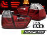 Stopuri LED BMW E91 09-11 Rosu Alb LED BAR