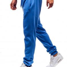 Pantaloni trening bărbați albastru-deschis Bolf XW01