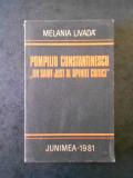 MELANIA LIVADA - POMPILIU CONSTANTINESCU * UN SAINT-JUST AL OPINIEI CRITICE