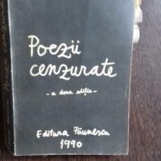 POEZII CENZURATE , ADRIAN PAUNESCU