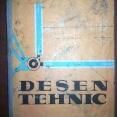 Desen tehnic manual pentru scoli profesionale- Gh. Nicoara, C. I. Georgescu