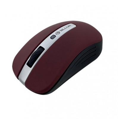 Mouse wireless Tellur TLL491091 Basic LED Rosu inchis foto