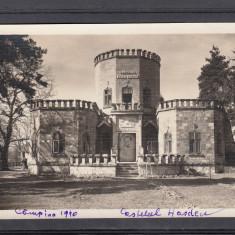 CAMPINA  CASTELUL  IULIA  HASDEU  FOTO ORIGINAL J. FISCHER  SIBIU