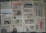 ziar,ziare dupa Revolutie,anii 90,Europa Libera, Zig Zag,Baricada ,in descriere