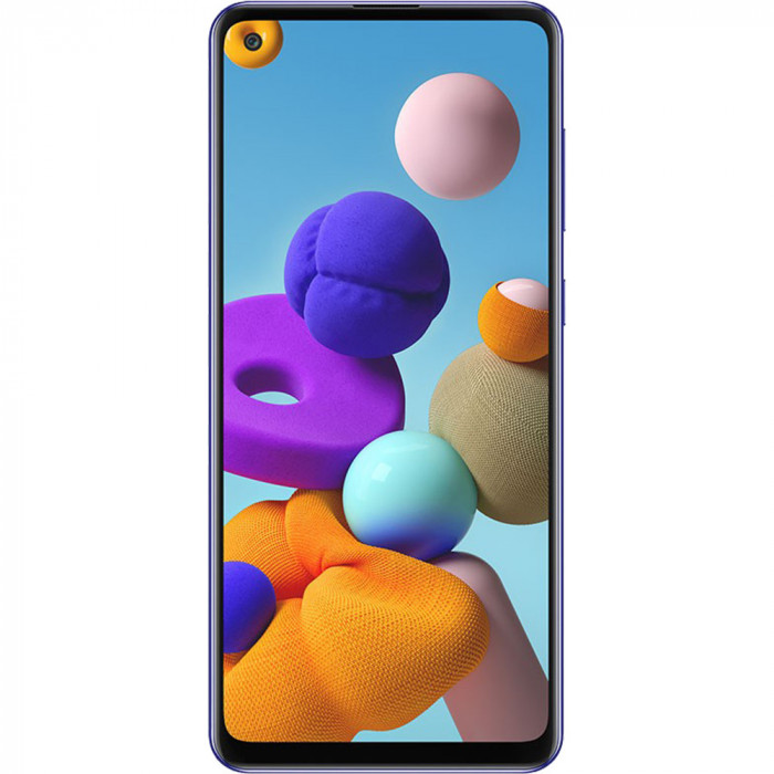 Galaxy A21s Dual Sim Fizic 64GB LTE 4G Albastru 6GB RAM