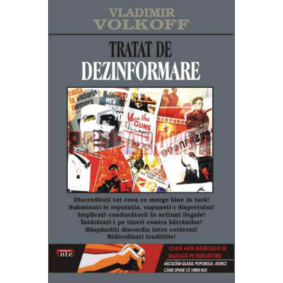 Tratat de dezinformare - Vladimir Volkoff foto