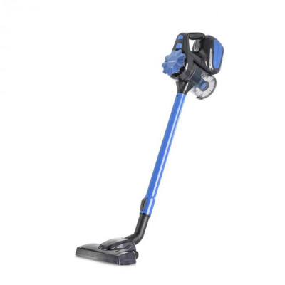 OneConcept CleanTurbo, aspirator de vertical, 600 W, sistem MultiCyclonic, albastru foto