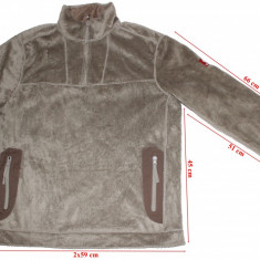 Bluza polar pufos Engelbert Strauss, Polartec Thermal Pro, barbati, marimea XL