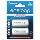 Adaptor Panasonic eneloop R14 C de la R6 AA 2 Bucati / Set