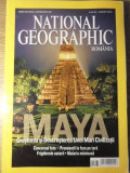 NATIONAL GEOGRAPHIC AUGUST 2007. MAYA, CRESTEREA SI DESCRESTEREA UNEI MARI CIVIL