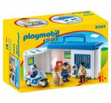 Cumpara ieftin Playmobil 1.2.3, Set statie politie