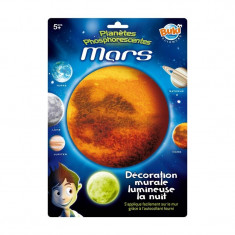 Decoratiuni de perete fosforescente Marte