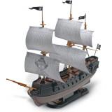 Cumpara ieftin The Black Diamond Pirate Ship Snap Tite, Revell, 26 piese-RV11971