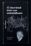 Tia Peltz - O lacrimă într-un minialbum. Bucureștiul amintirilor