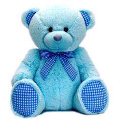 Ursulet de plus albastru 35 cm