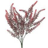 Iarba artificiala flori rosii H35