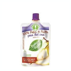 Piure Bio de Fructe fara Zahar - Pere Probios 100gr Cod: 8018699014774