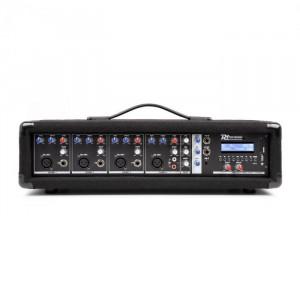 Power Dynamics PDM-C405A, mixer muzical cu 4 canale, 800 W, usb și sd slot