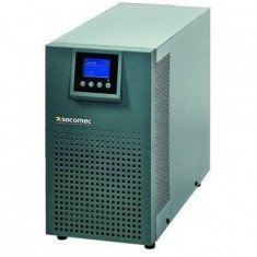 UPS Socomec ITYS2 3000VA online dubla conversie, Hard wire input/ output, Baypass, Management RS232, Optional SNMP Card