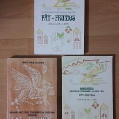 Anuarul Muzeului Etnografic al Bucovinei FAT-FRUMOS 1999, 2000, 2001