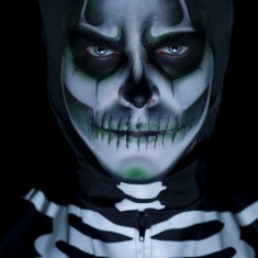 Kit machiaj fosforescent Halloween