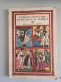 Povesti populare romanesti si sasesti - ilustratii Val Munteanu