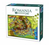 Cumpara ieftin Puzzle Romania, 240 piese