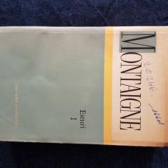 Montaigne – Eseuri, vol. 1