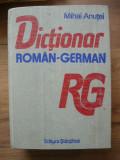 MIHAI ANUTEI - DICTIONAR ROMAN - GERMAN ( 60 000 de cuvinte, 1990 )