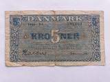 Danemarca 5 Kroner 1946