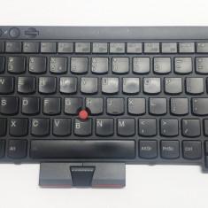Tastatura laptop second hand originala LENOVO T430 T430i FRU 04X1231 layout US