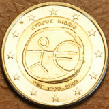 CIPRU moneda 2 euro comemorativa 2009 EMU-10 ani Uniune, UNC
