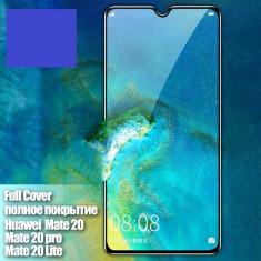 Folie sticla securizata 9D FULL GLUE pentru Huawei Mate 20 / Mate 20 Lite